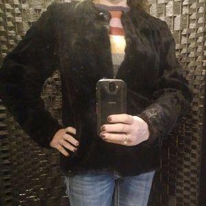 Vintage Handsewn Chinchilla Fur Jacket